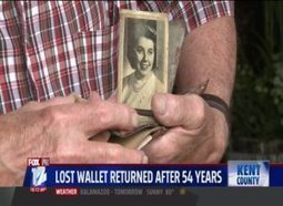 Missing Wallet Returned 54 Years Later | Troy West's Radio Show Prep | Scoop.it