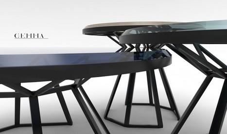 Collection de tables luxueuses GEMMA par Anaïs Maigrat | Press review | Scoop.it