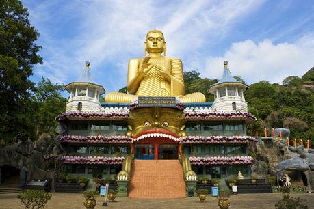 Le Bouddha du Temple d'Or au Sri Lanka | Actu & Voyage au Sri Lanka | Scoop.it