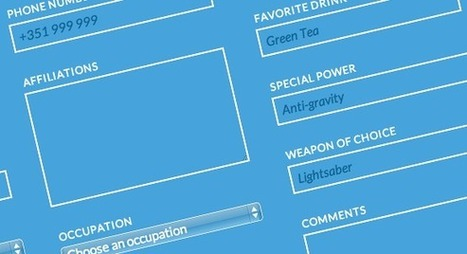Blueprint: Responsive Multi-Column Form | Codrops | Mnemosia: Graphics, Web, Social Media | Scoop.it