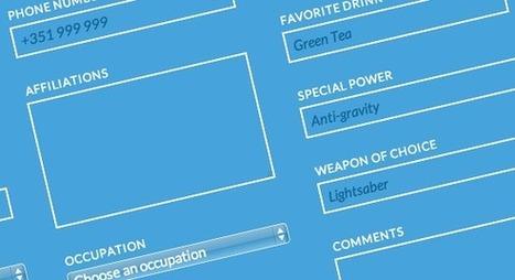 Blueprint: Responsive Multi-Column Form | Codrops | Front-End Coding and Web Design | Scoop.it