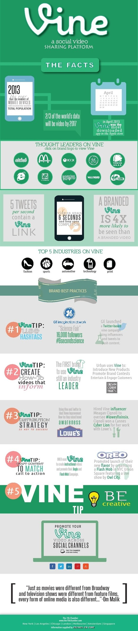 Vine Infographic - List of 10 Infographics about Vine Social Network | Socially | Scoop.it