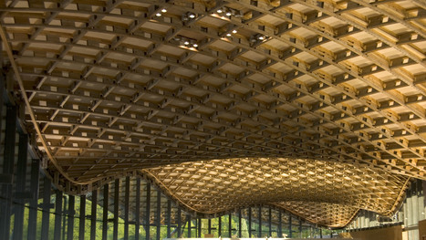 Savill visitor centre - One of the UK's most awarded timber designs features a 'magic carpet' roof structure | Building with wood | Scoop.it