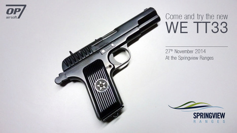 Try the new WE TT33 this weekend near London! | Airsoft Showoffs | Scoop.it