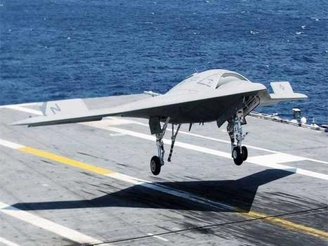 An X-47B Unmanned Combat Air System - Economic Times | Cognitive Engineering | Scoop.it