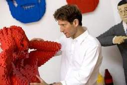 Sculptor's playful work done in Legos - The News Journal | Heron | Scoop.it