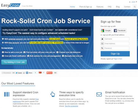 Free Cron Jobs Service - EasyCron.com | Cron Job | Scoop.it