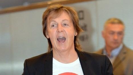Paul McCartney enregistre avec Cooper, Depp et Perry | Paul McCartney | Scoop.it
