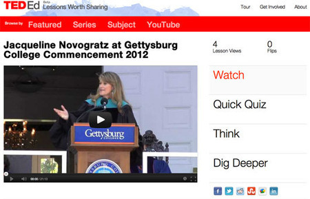 TED Blog | Commencement 2012, flipped: Lessons from great grad ... | Flipped Class | Flippin' The Class Fantastic | Scoop.it