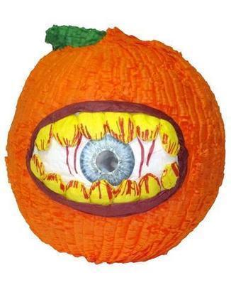 Medium Hungry Eye Pumpkin Pinata | Pinatas | Scoop.it