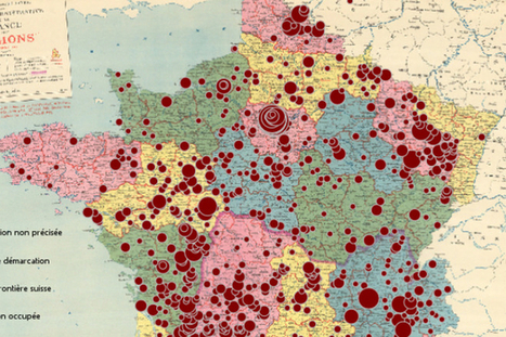Une carte interactive recense les rafles des enfants juifs | Occupied Paris, 1940-44 | Scoop.it