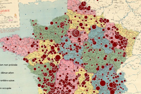 "Une carte interactive recense les rafles des enfants juifs | ""Qui si je criais...?"" 