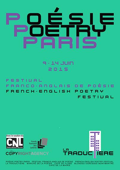 9-14 juin2015 :: Festival franco-anglais de poésie | Poèmes d'avenir, du présent, du passé. | Scoop.it