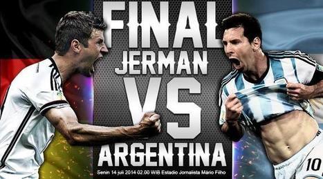 Jadwal Jerman vs Argentina Final Piala Dunia 2014 Live Streaming di ANTV, TV One, MivoTV & UseeTV   Piala Dunia 2014❕❕❕   Scoop.it