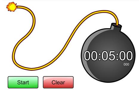 Time Bomb Countdown Goes BOOM! 00:05:00 | Daring Gadgets, QR Codes, Apps, Tools, & Displays | Scoop.it