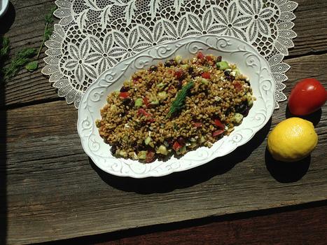 Easy Freekeh Salad | Best Easy Recipes | Scoop.it
