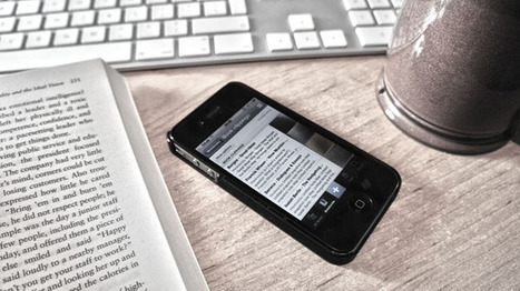 How to create searchable notes from books using Evernote and your smartphone. | dougbelshaw.com/blog | Connected Learning | Scoop.it