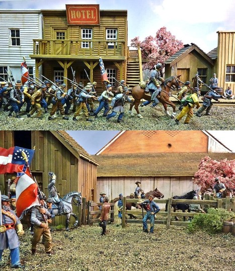 The American Civil War Diaries Toy Soldiers 1/32 scale | Military Shopping | Scoop.it