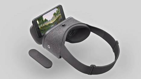 Daydream View: la realidad virtual de Google sencilla, asequible y móvil | Mobile Technology | Scoop.it