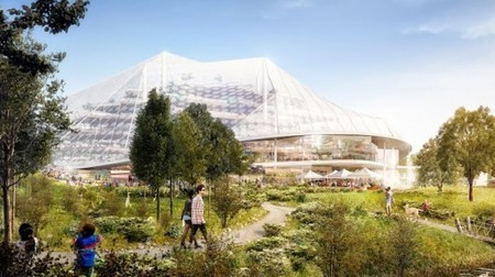 CA: Plans unveiled for Google's new Mountain View headquarters | Adam Williams | GizMag.com | @The Convergence of ICT & Distributed Renewable Energy | Scoop.it