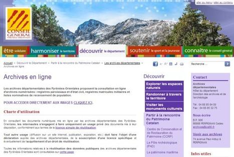 GénéInfos: Pyrénées-Orientales : ouverture des archives en ligne !   Nos Racines   Scoop.it