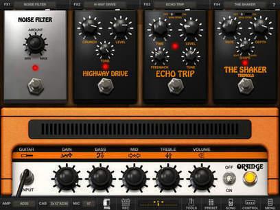 Amplitube Orange sur Ipad en super promo à 4.99 euros | Cavagroover | Scoop.it