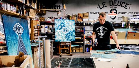 Shepard Fairey : l'art de la propagande peut-il servir l'écologie ? | Mediapeps | Scoop.it