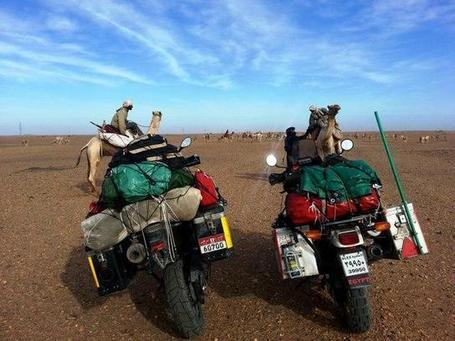 In a bid for peace, Egyptian tours Nile Basin on his motorbike | Égypte-actualités | Scoop.it