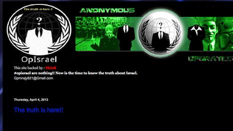 You hack me, I hack you: Israeli hackers break alleged Anonymous website — RT News   Anonymous: Freedom seeker? or Hacker?   Scoop.it