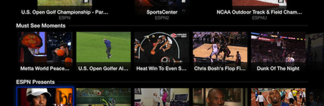 WatchESPN Now  Available on Apple TV | S3i Daily Digest | Scoop.it