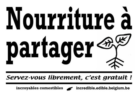 Participez aux Incroyables Comestibles La Louvière | Côté Jardin | Scoop.it