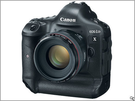 Canon EOS-1D X professional DSLR announcement and overview | Photography Gear News | Scoop.it