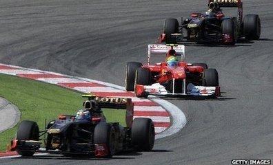 BBC Sport - FIA ban new technical innovation developed by Lotus and Ferrari   mjmobbs Formula 1   Scoop.it