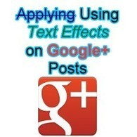 How to Bold, Italic and Strikethrough Words on Google Plus Posts | Allround Social Media Marketing | Scoop.it