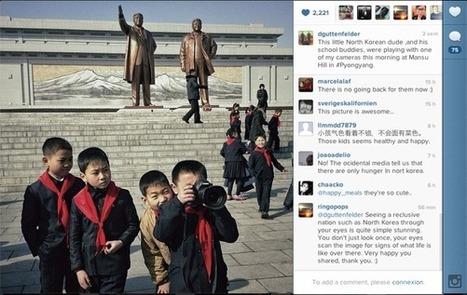 Découvrez le vrai visage de la Corée du Nord grâce à Instagram | Veille web-technologique | Scoop.it