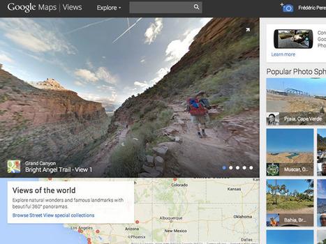 Google Views : un site communautaire mêlant Photo Sphère et Google Maps | Technologie & informatique | Scoop.it