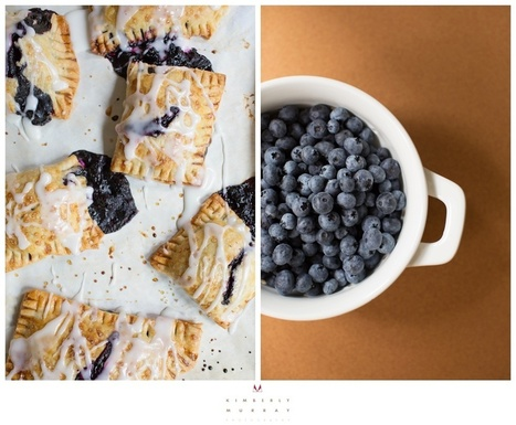 Lemon Blueberry Hand Pies from The Kitchen   Happy Nibbler   Scoop.it