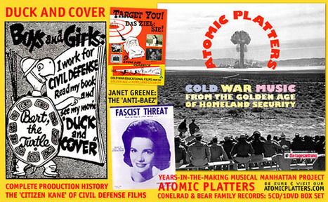 CONELRAD: All Things Atomic | The Golden Age of Homeland Security | Vintage, Robots, Photos, Pub, Années 50 | Scoop.it