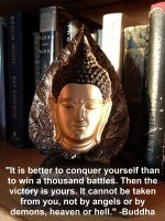 Quote of the Day: Buddha on Victory OverSelf | Neither Here Nor There | Scoop.it