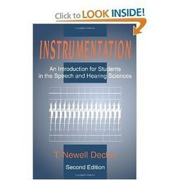 Amazon.com: Instrumentation: An Introduction for Students in the Speech and Hearing Sciences (9780805821864): T. Newell Decker: Books | Language learning | Scoop.it