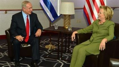 #corrupt #greed puppet #Clinton meets #Netanyahu, rejects #UN solution for #Palestine | The uprising of the people against greed and repression | Scoop.it
