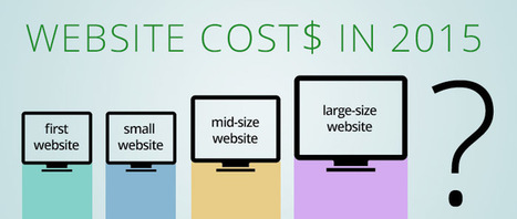 How Much Does a Website Cost in 2015? | Web Site Development and Marketing | Scoop.it