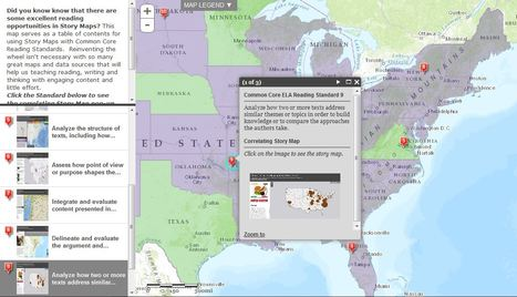 Maps as a Common Core Reading Tool | Teacher Tools and Tips | Scoop.it