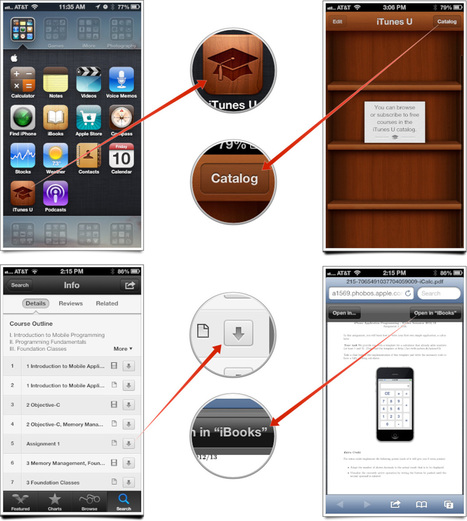 How to download iTunes U assignments and course material to iBooks   Go Go Learning   Scoop.it