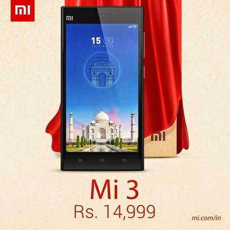 Xiaomi MI 3 - Specification, Price and Release date in India | CrunchyFeed | How to Guide | Scoop.it