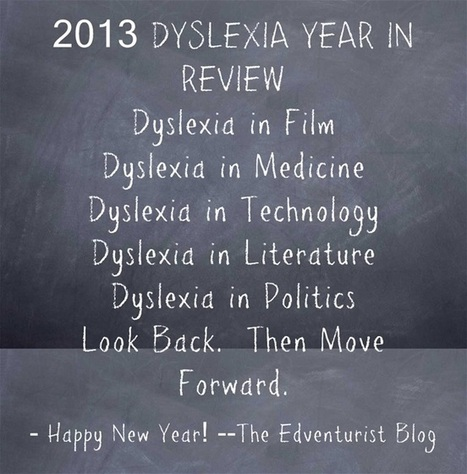DYSLEXIA REVIEW: 13 MEMORABLE DYSLEXIA STORIES OF 2013 | Students with dyslexia & ADHD in independent and public schools | Scoop.it