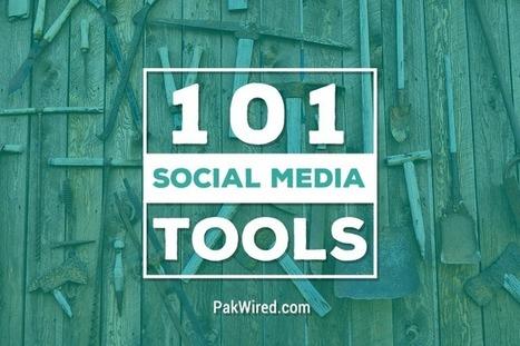 101 Social Media Tools for Social Media Marketing and More   Emprendimiento, Innovación y Gerencia   Scoop.it