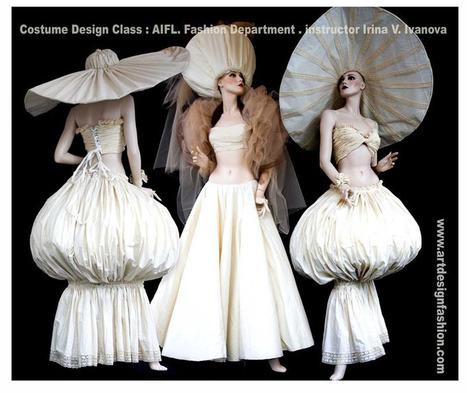Costume. Art . Design. Fashion. Creative fashion with costume inspiration | Art and fashion design | Scoop.it