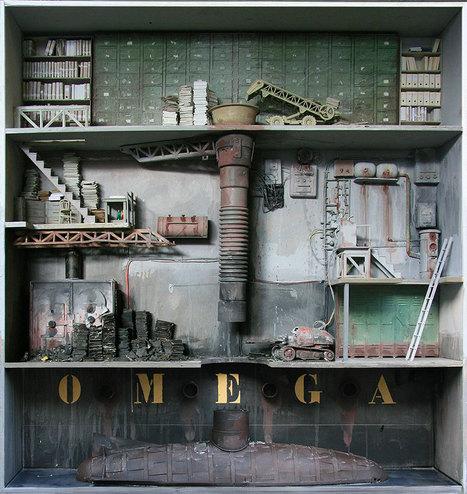 French Artist Creates Realistic Miniature Laboratories   Strange days indeed...   Scoop.it