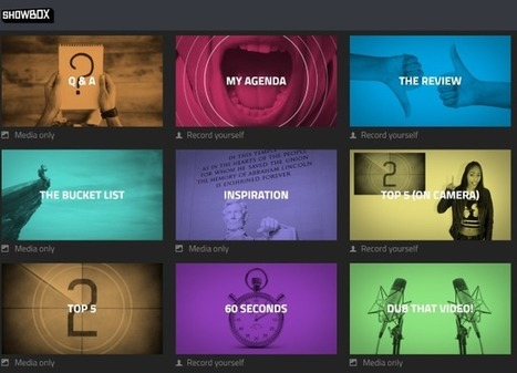 Use This Awesome Web App to Make the Best Videos on YouTube #Showbox | Pedagogy and technology of online learning | Scoop.it